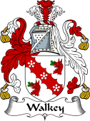 English Coat of Arms for Walkey