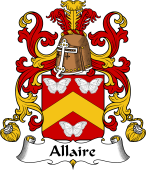 Coat of Arms from France for Allaire