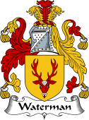 English Coat of Arms for Waterman