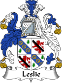 Irish Coat of Arms for Leslie