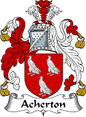 English Coat of Arms for Acherton