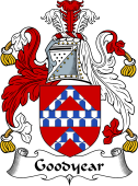 English Coat of Arms for Goodyear