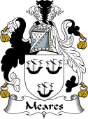 Irish Coat of Arms for Meares or O'Meers