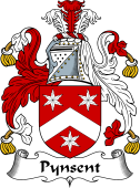 English Coat of Arms for Pynsent