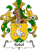 German Wappen Coat of Arms for Kobel