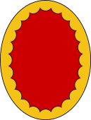 Oval Shield-Bordure Inveckted
