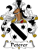 German Coat of Arms for Peterer