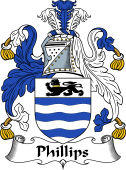 Irish Coat of Arms for Phillips or MacPhillips