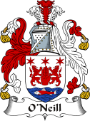 Irish Coat of Arms for O'Neill