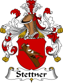 German Wappen Coat of Arms for Stettner