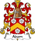 Coat of Arms from France for Adam