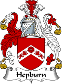 English Coat of Arms for Hepburn