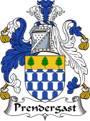 Irish Coat of Arms for Prendergast I