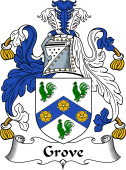 Irish Coat of Arms for Grove