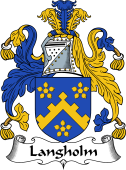 English Coat of Arms for Langholm (e)