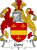 Irish Coat of Arms for Gore