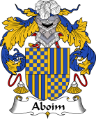 Portuguese Coat of Arms for Aboim