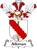 Coat of Arms from Scotland for Aikman