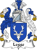 English Coat of Arms for Legge