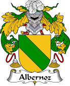 Portuguese Coat of Arms for Albernoz