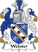 English Coat of Arms for Webster I