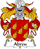 Portuguese Coat of Arms for Abreu