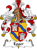 German Wappen Coat of Arms for Egger