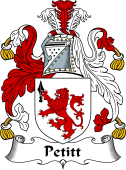 Irish Coat of Arms for Petitt