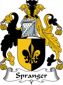 English Coat of Arms for Spranger