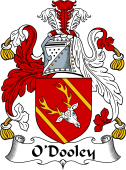 Irish Coat of Arms for O'Dooley or Dowley