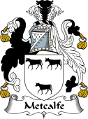 English Coat of Arms for Metcalfe