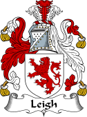 Irish Coat of Arms for Leigh
