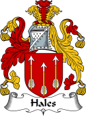 English Coat of Arms for Hales