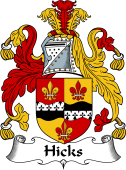 Irish Coat of Arms for Hicks