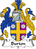 English Coat of Arms for Burton