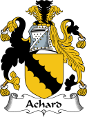 English Coat of Arms for Achard