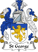 English Coat of Arms for St George
