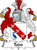 Irish Coat of Arms for Tod or Todd