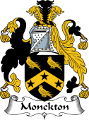 English Coat of Arms for Monckton