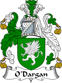Irish Coat of Arms for O'Dargan, MacDeargan