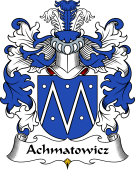 Polish Coat of Arms for Achmatowicz