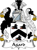 English Coat of Arms for Agard