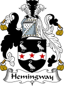 English Coat of Arms for Hemingway
