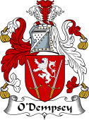 Irish Coat of Arms for O'Dempsey