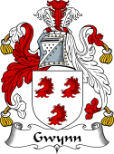 Irish Coat of Arms for Gwynn