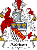 English Coat of Arms for Addison