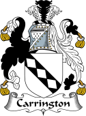 English Coat of Arms for Carrington
