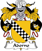 Portuguese Coat of Arms for Adorno