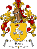 German Wappen Coat of Arms for Hein