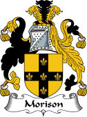 English Coat of Arms for Morison